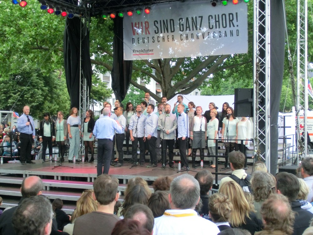 Vocal Line beim Chorfest (c) vocal resources