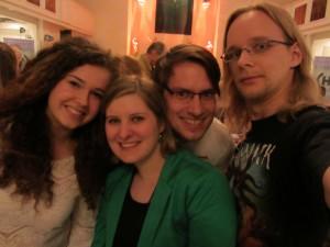 Janina, Clarissa, Kai und Gonzo (c) Vokalklang
